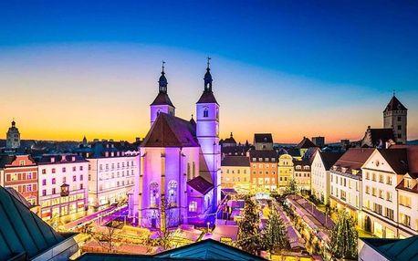 Německo, Bavorsko, autobusem na 1 den