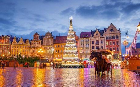 Polsko, Wroclav, autobusem na 1 den
