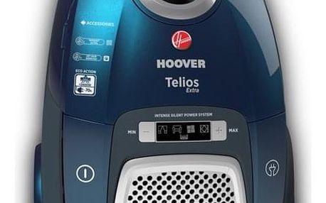 Vysavač podlahový Hoover Telios Extra TX60PET011 modrý/zelený