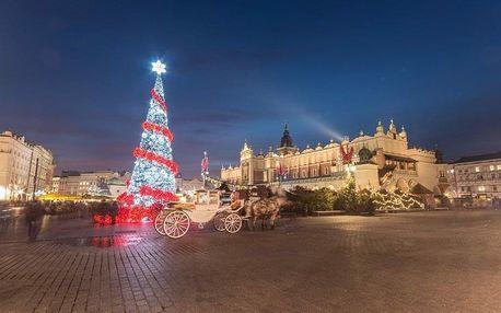 Polsko, Krakow, autobusem na 2 dny
