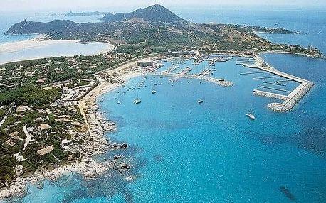 Itálie - Sardinie / Sardegna na 8 dní, plná penze s dopravou letecky z Prahy