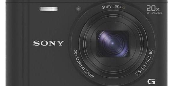 Digitální fotoaparát Sony Cyber-shot DSC-WX350 černý