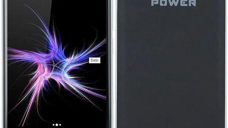 Mobilní telefon myPhone POWER Dual SIM (TELMYAPOWERBK)