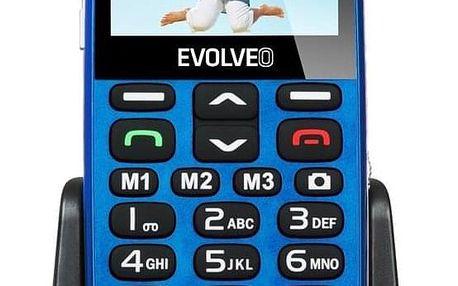 Evolveo EVOLVEO EasyPhone XD pro seniory modrý (EP-600-XDL)