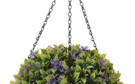 Koopman Umělá květina v závěsném květináči Chatty, 20 cm