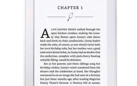 Čtečka e-knih Amazon KINDLE PAPERWHITE 3 2015 s reklamou bílá (841667107868)