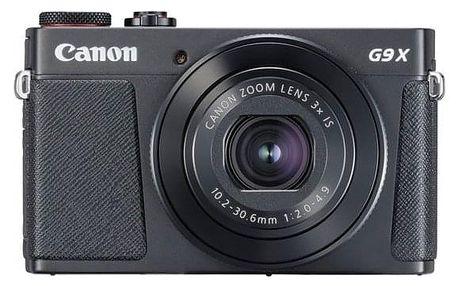 Digitální fotoaparát Canon G9 X Mark II (1717C002) černý