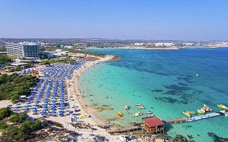 Kypr - Ayia Napa letecky na 8 dnů
