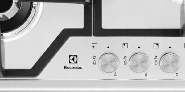 Plynová varná deska Electrolux KGS6436SX nerez4