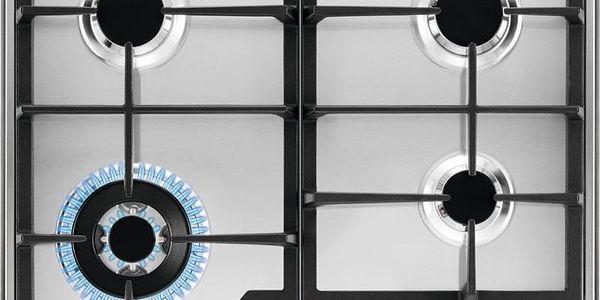 Plynová varná deska Electrolux KGS6436SX nerez5