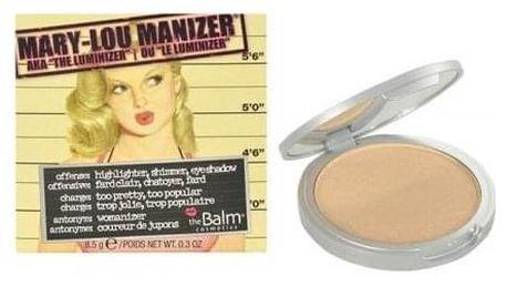 TheBalm Mary-Lou Manizer 8,5 g rozjasňovač a oční stíny pro ženy