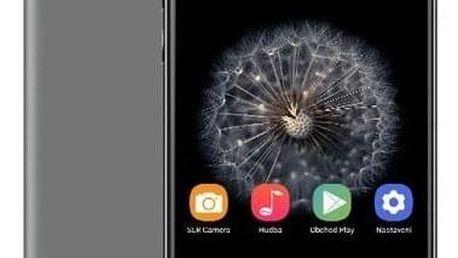 Mobilní telefon Umax VisionBook P55 LTE Pro (UMM200P56) šedý SIM karta T-Mobile SIM s kreditem T-mobile Twist V síti 200 Kč kredit - hlasové volání v hodnotě 200 Kč