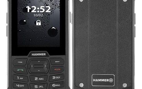 myPhone Hammer 4 Dual SIM stříbrný (TELMYHHA4SI)