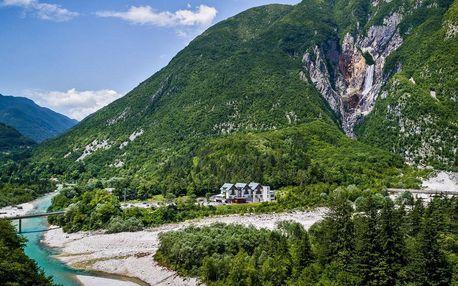 Aktivní dovolená ve Slovinsku kousek od vodopádů