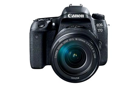 Digitální fotoaparát Canon EOS 77D + 18-55 IS STM černý (1892C017AA)