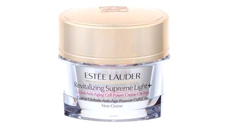 Estée Lauder Revitalizing Supreme Light+ Global Anti-Aging Cell Power Creme Oil-Free 30 ml rozjasňující krém proti vráskám pro normální a smíšenou pleť pro ženy