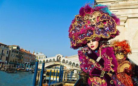 Itálie - Benátky letecky na 3 dny, snídaně v ceně