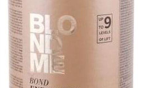 Schwarzkopf Blond Me Bond Enforcing Premium Lightener 9+ 450 g zesvětlující bezprašný pudr pro ženy