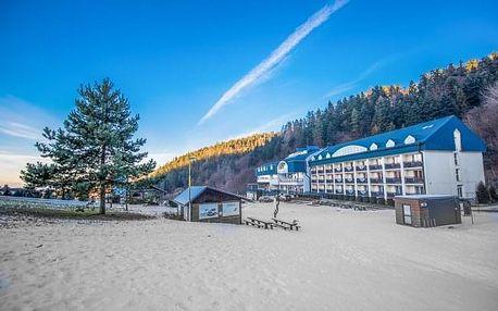 Slovenský ráj: zima v Hotelu Plejsy *** u ski areálu + polopenze a wellness