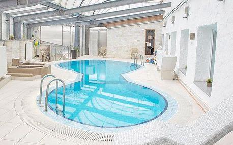 Lázně Miškovec v luxusním hotelu 100 m od termálů s wellness a polopenzí