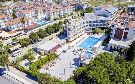 Turecko - Side na 8 dní, all inclusive s dopravou letecky z Prahy