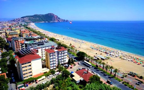 Turecko - Alanya letecky na 7-8 dnů, all inclusive
