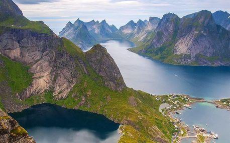 Norsko letecky na 9 dnů, strava dle programu