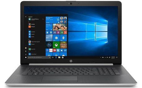 Notebook HP 17-ca1004nc stříbrný (6WN16EA#BCM)