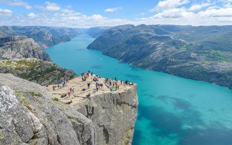 Norsko letecky na 5 dnů, strava dle programu