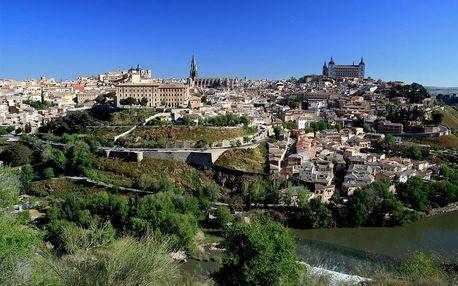Španělsko - Madrid letecky na 4 dny, strava dle programu