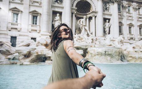 Itálie - Řím autobusem na 6 dnů, polopenze