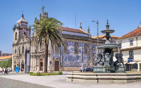 Portugalsko letecky na 5 dnů, polopenze
