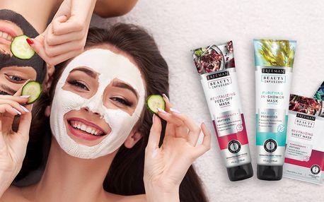 Pleťové masky: čisticí, revitalizační, hydratační