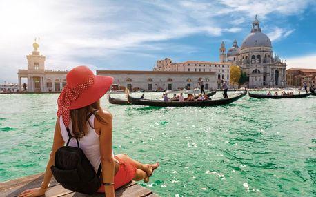 Itálie - Benátky letecky na 4 dny, snídaně v ceně