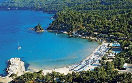 Řecko - Thasos letecky na 8-15 dnů, polopenze