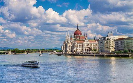 Maďarsko - Budapešť letecky na 4 dny, snídaně v ceně