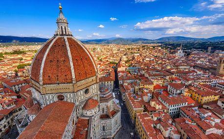 Itálie - Toskánsko letecky na 7 dnů, strava dle programu