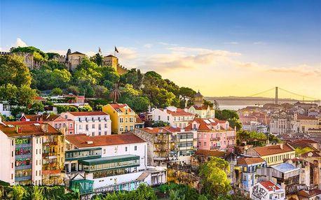 Portugalsko - Lisabon letecky na 4 dny, snídaně v ceně