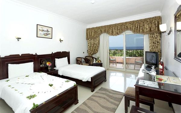 Hotel Three Corners Happy Life Resort, Marsa Alam (oblast), letecky, all inclusive2