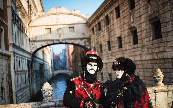 Karneval v Benátkách, letecky, snídaně v ceně2