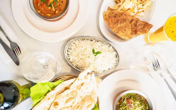 Indické menu a lassi pro 2 osoby4