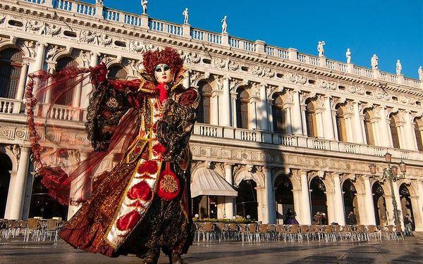 Karneval v Benátkách, letecky, snídaně v ceně4