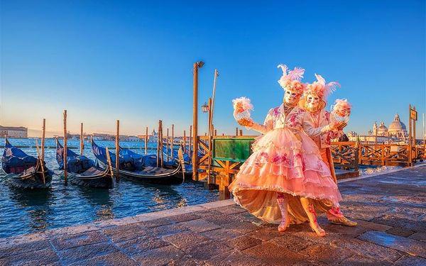 Karneval v Benátkách, letecky, snídaně v ceně5