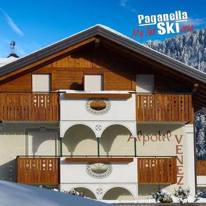 6denní Paganella se skipasem   Hotel Alpotel Dolomiten***   Denní přejezd   Doprava, ubytování, polopenze