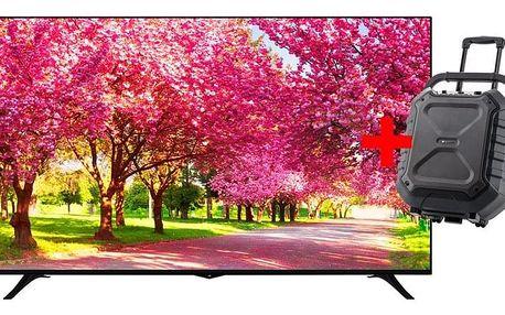 Televize JVC LT-75VU83L černá