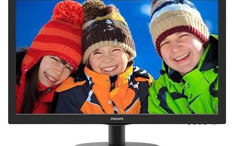 Monitor Philips 223V5LSB černý (223V5LSB/00)