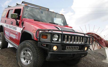 Balíčky adrenalinových jízd: Hummer, buggy i Tatra