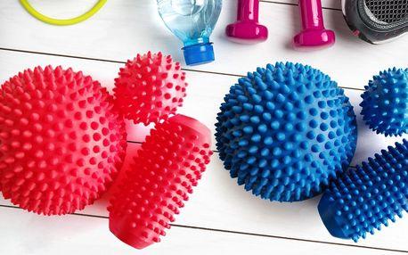 Masážní míčky na uvolnění svalů i reflexní masáž