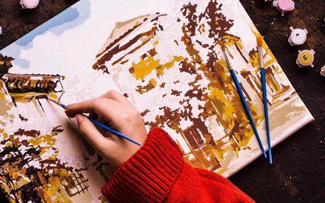 Malovaný obraz podle vlastní fotografie