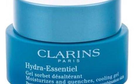 Clarins Hydra-Essentiel 50 ml hydratační gel-krém pro normální a smíšenou pleť tester pro ženy